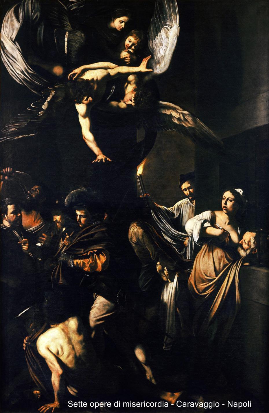 Caravage -sept œuvres de miséricorde