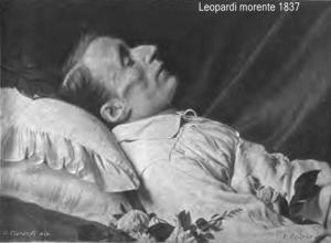 Giacomo Leopardi morente