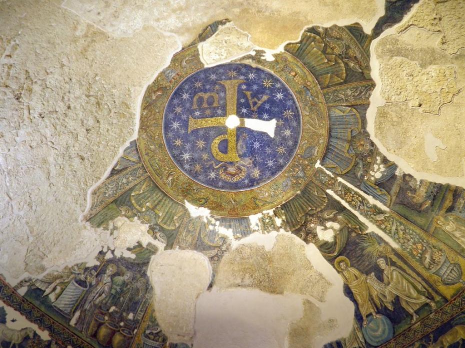coupole du Baptistère de San Giovanni in Fonte